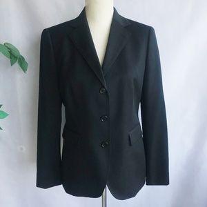 Brooks Brothers Blazer Jacket Black Career Sz 6